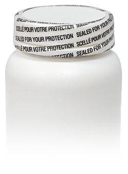 Pharmaceutical product with a tamper-evident shrink sleeve on its cap